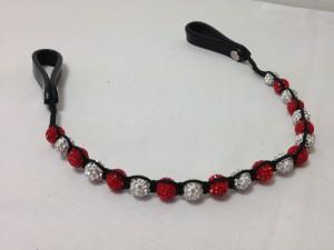 Traditional Shamballa Browband - 1 or 2 Bead Colours