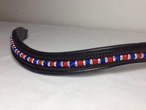 Shamballa Beaded Browband