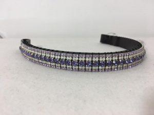 Sale Preciosa Crystal Browband – Tanzanite, Opal and Violet