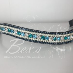 Crystal, Aqua Bohemica and Blue Zircon with Opal and Montana