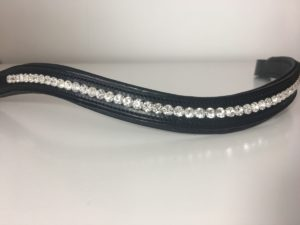 Preciosa Crystal Channelled Browband - Single Colour
