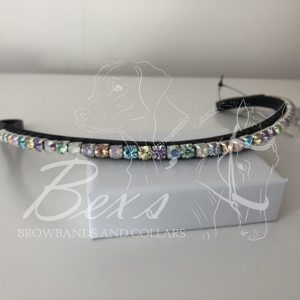 Unicorn 6mm curved browband