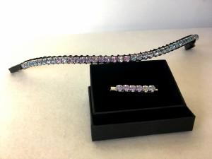 Preciosa Crystal Browband - 6mm wide