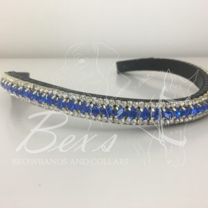 Sapphire and Crystal (gold casing)