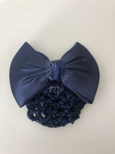 Hair Bun Net with Bow