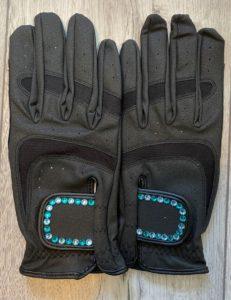 Preciosa Crystal Outline Design Gloves